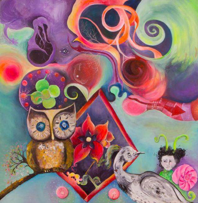 Art Austin, Liz Paintings, Austin Art, Art Garage
